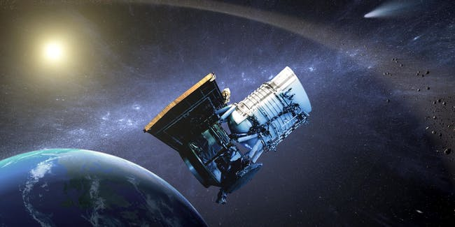 earth space satellite
