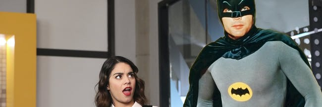 The original Batman actor, Adam West, is going to appear in a new episode of the DC superhero sitcom 'Powerless'