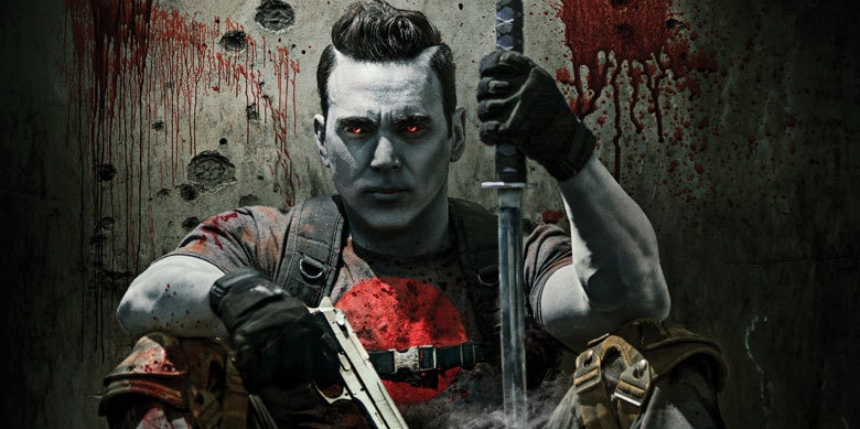 Jason David Frank Power Rangers Bloodshot