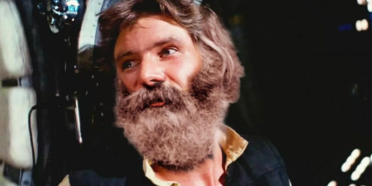 What if Han Solo had a huge beard? Gamers can find out.