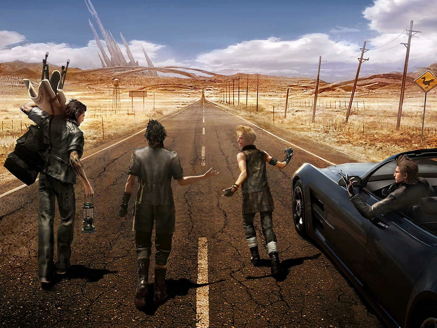 The Open Road Is the Path to Success in 'Final Fantasy XV'