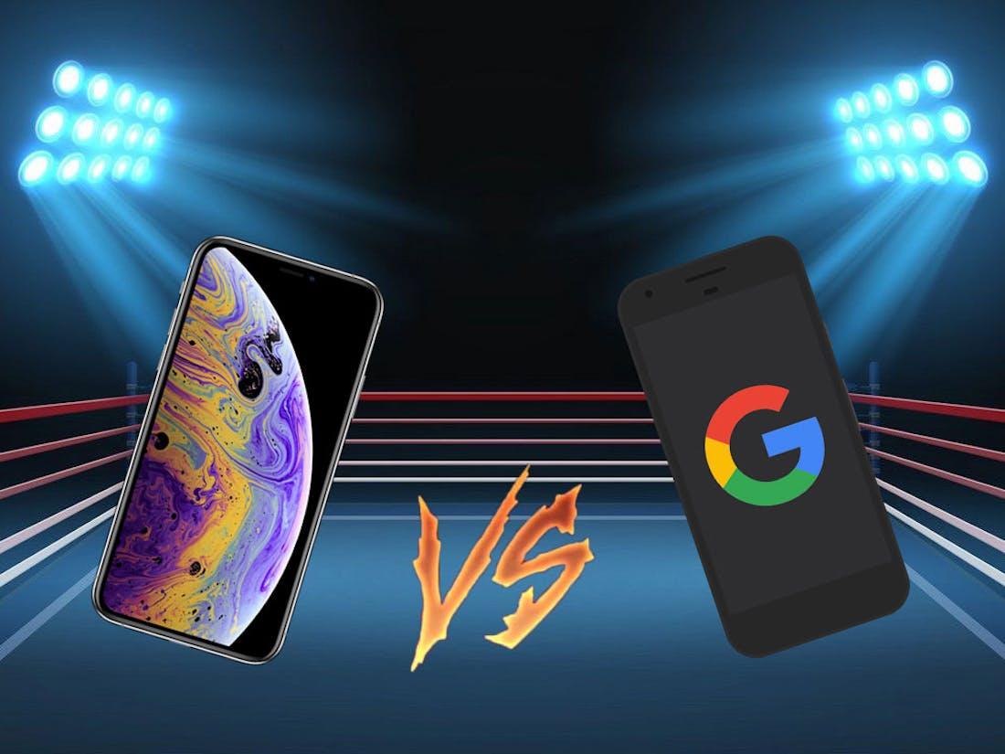 iphone xs vs google pixel 3
