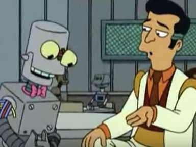 The Explosive, Wild Story Behind Futurama's Malfunctioning Eddie