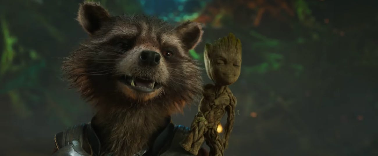 Rocket Groot Guardians of the Galaxy