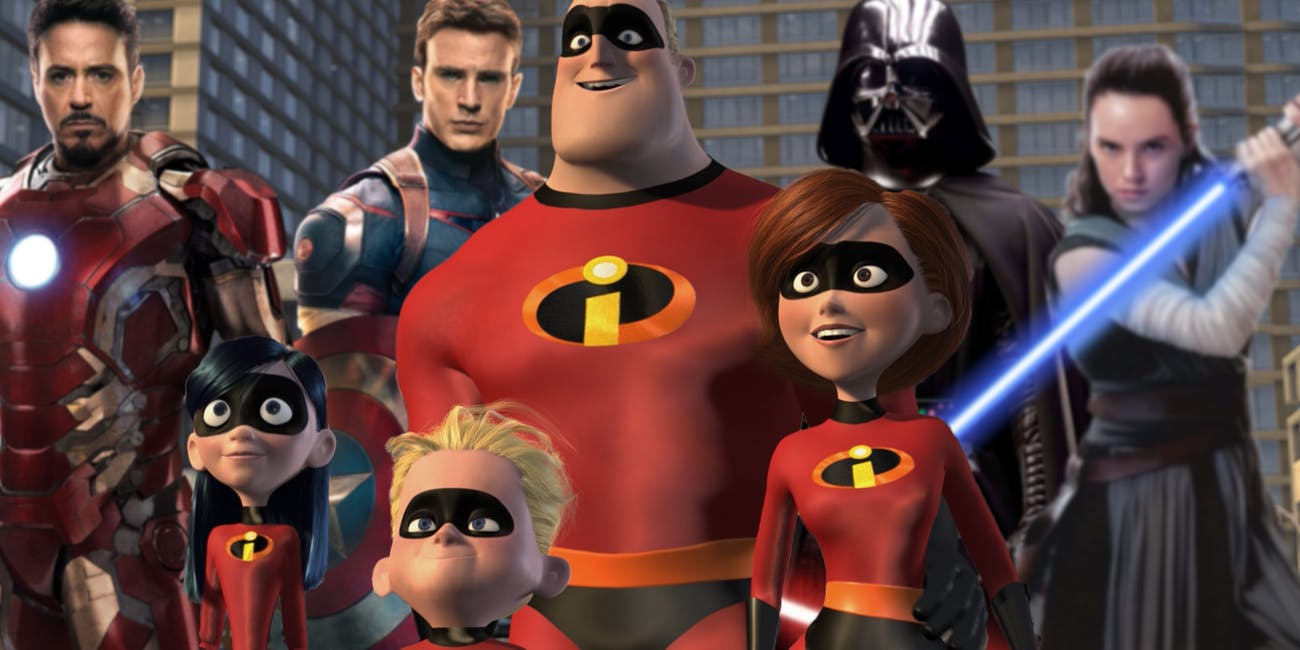 You're an idiot if you want this Incredibles/Avengers/Star Wars Crossover