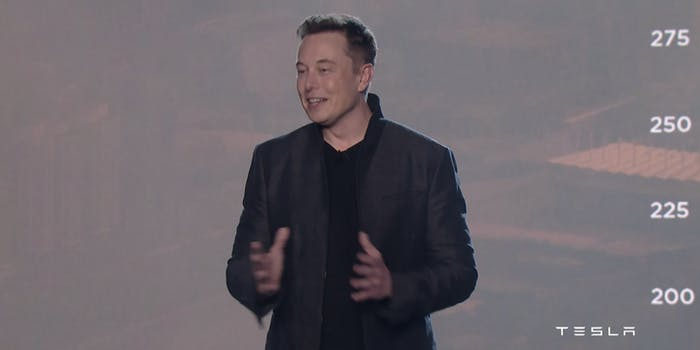 Elon Musk debuts Model 3.