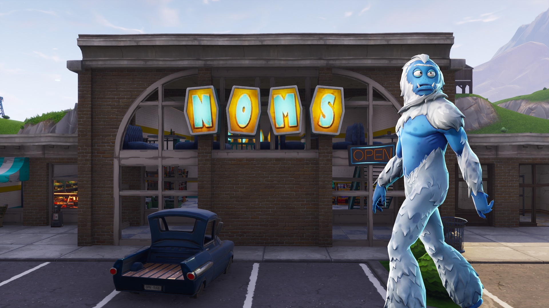 Fortnite' NOMS Sign Letter Locations: Map and Guide for Letters