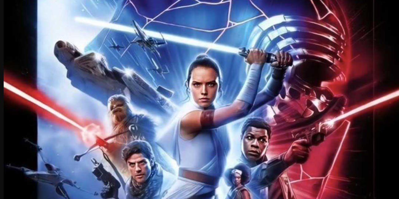 The international poster for 'Star Wars: The Rise of Skywalker'