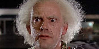 Christopher Lloyd is best-known for his role as Doc Brown in the 'Back to the Future' series but he's going to be in a new role as Zalmon Shaw in '12 Monkeys'