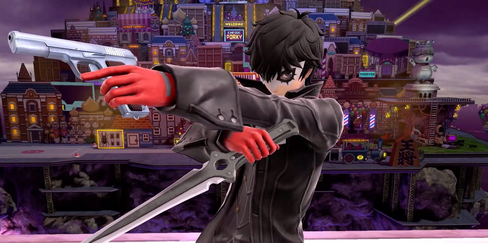 Joker Brings 'Persona 5' Style to 'Smash Bros. Ultimate', Plus Video Editor