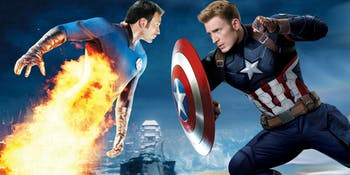 Captain America Fox Marvel