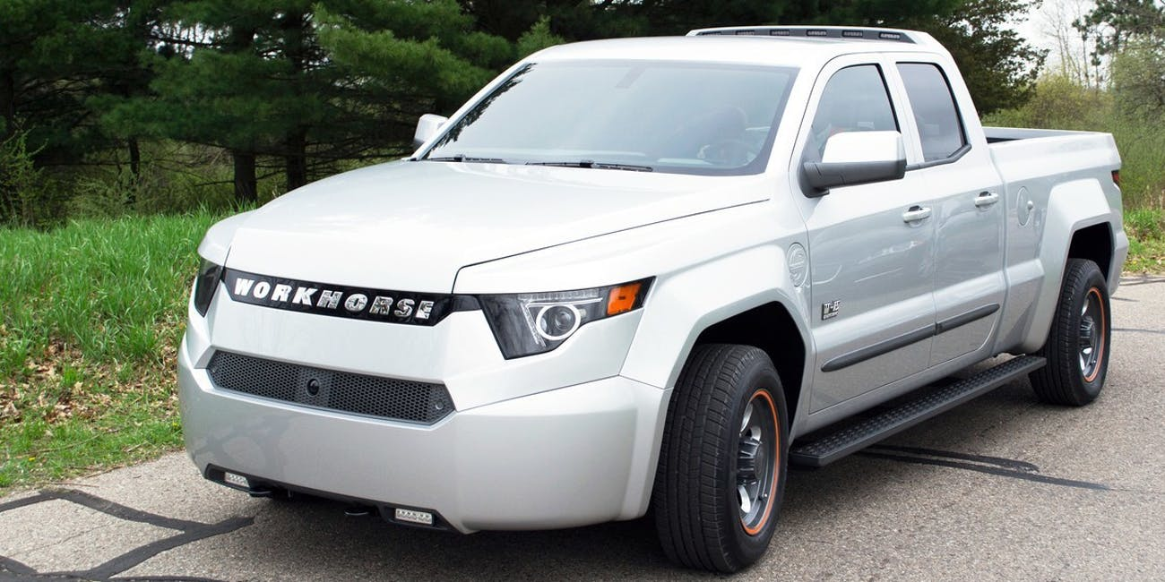 Tesla Competitor Electric Pickup Truck