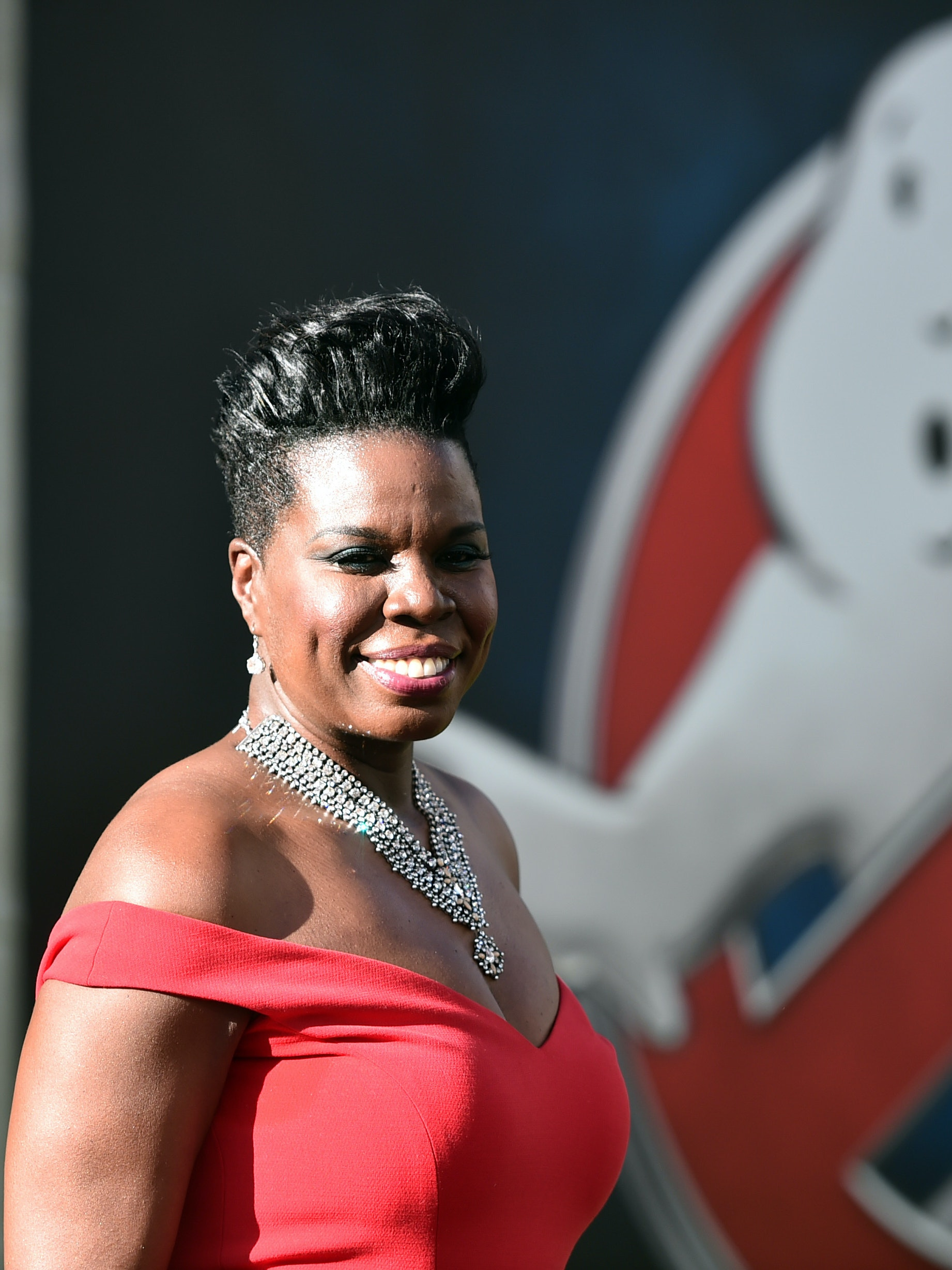 Actress Leslie Jones attends the Premiere of Sony Pictures' 'Ghostbusters' at TCL Chinese Theatre on July 9, 2016 in Hollywood, California.
