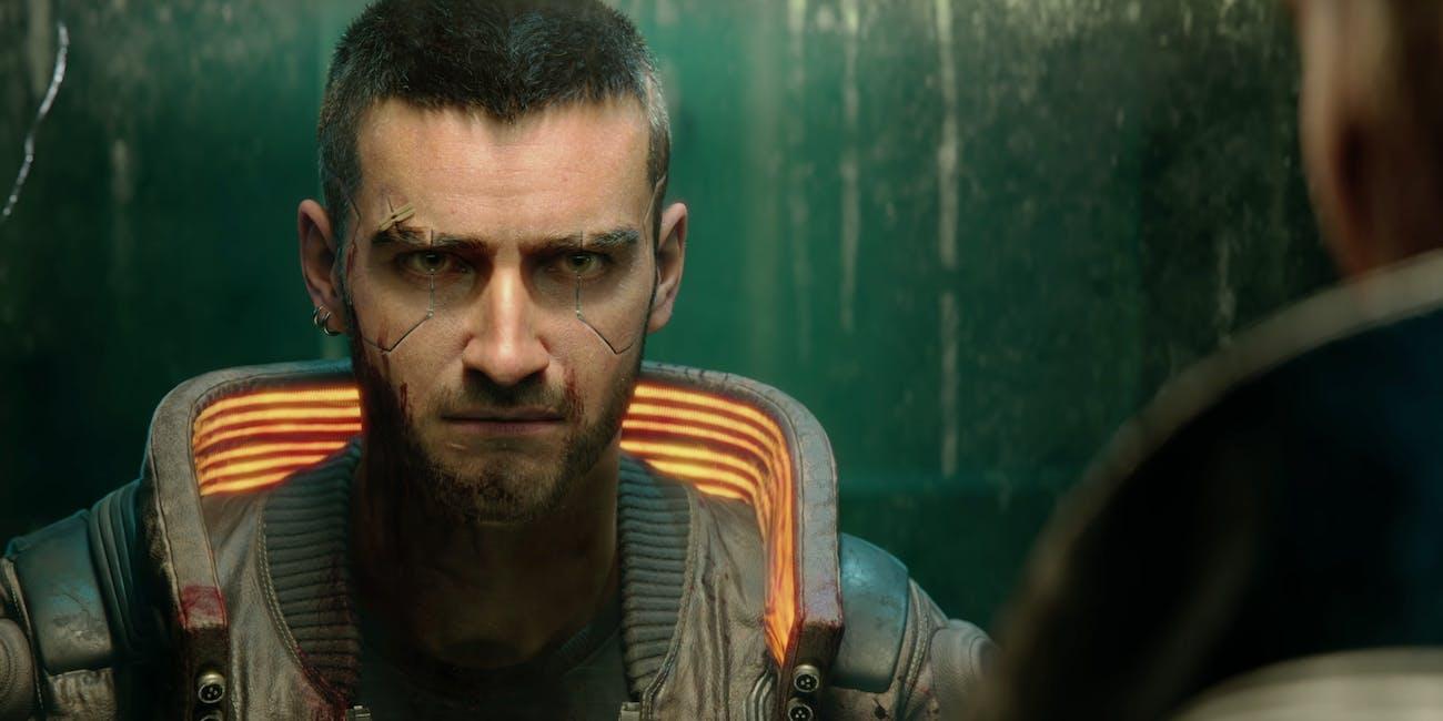 Still from 'Cyberpunk 2077' E3 trailer