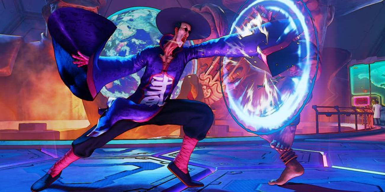New 'Street Fighter V' Character F A N G  Officially Revealed at
