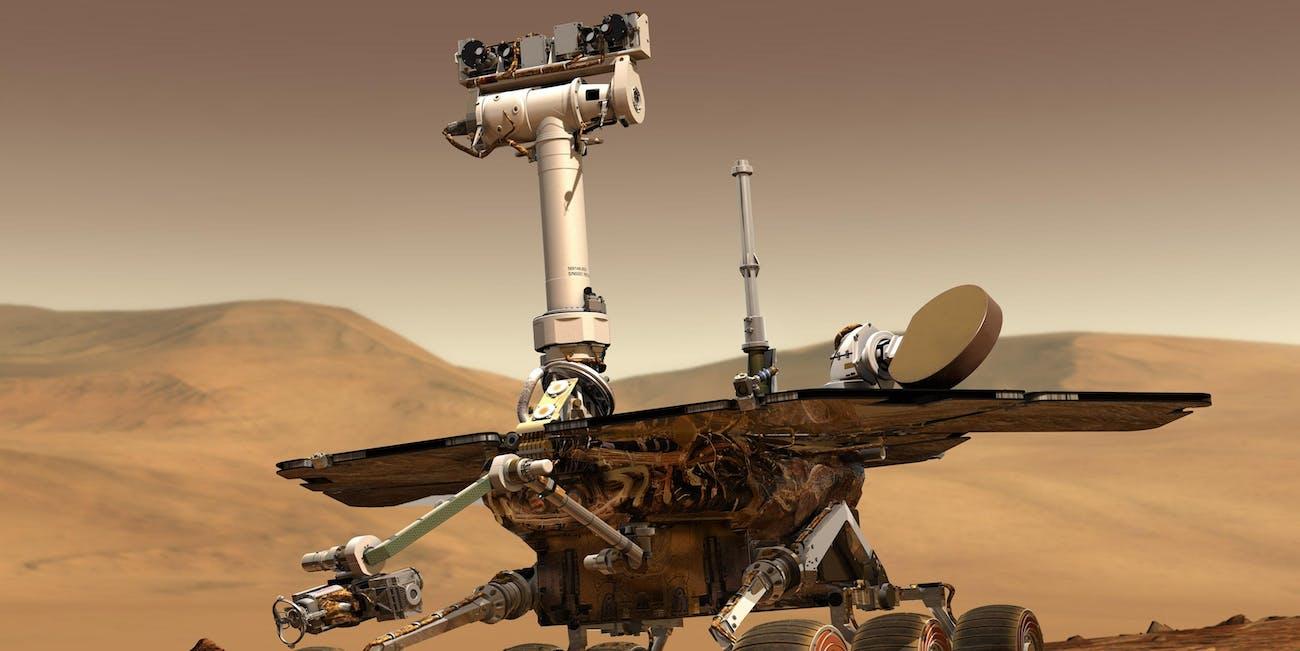 NASA Opportunity Rover