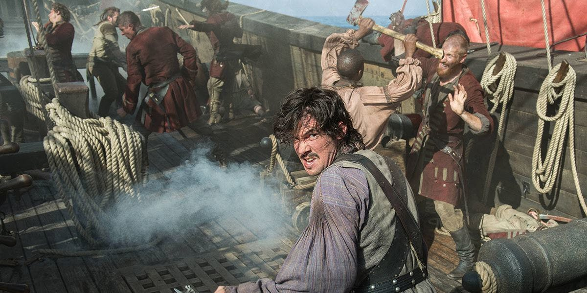 Jack Rackham in 'Black Sails' Season 4