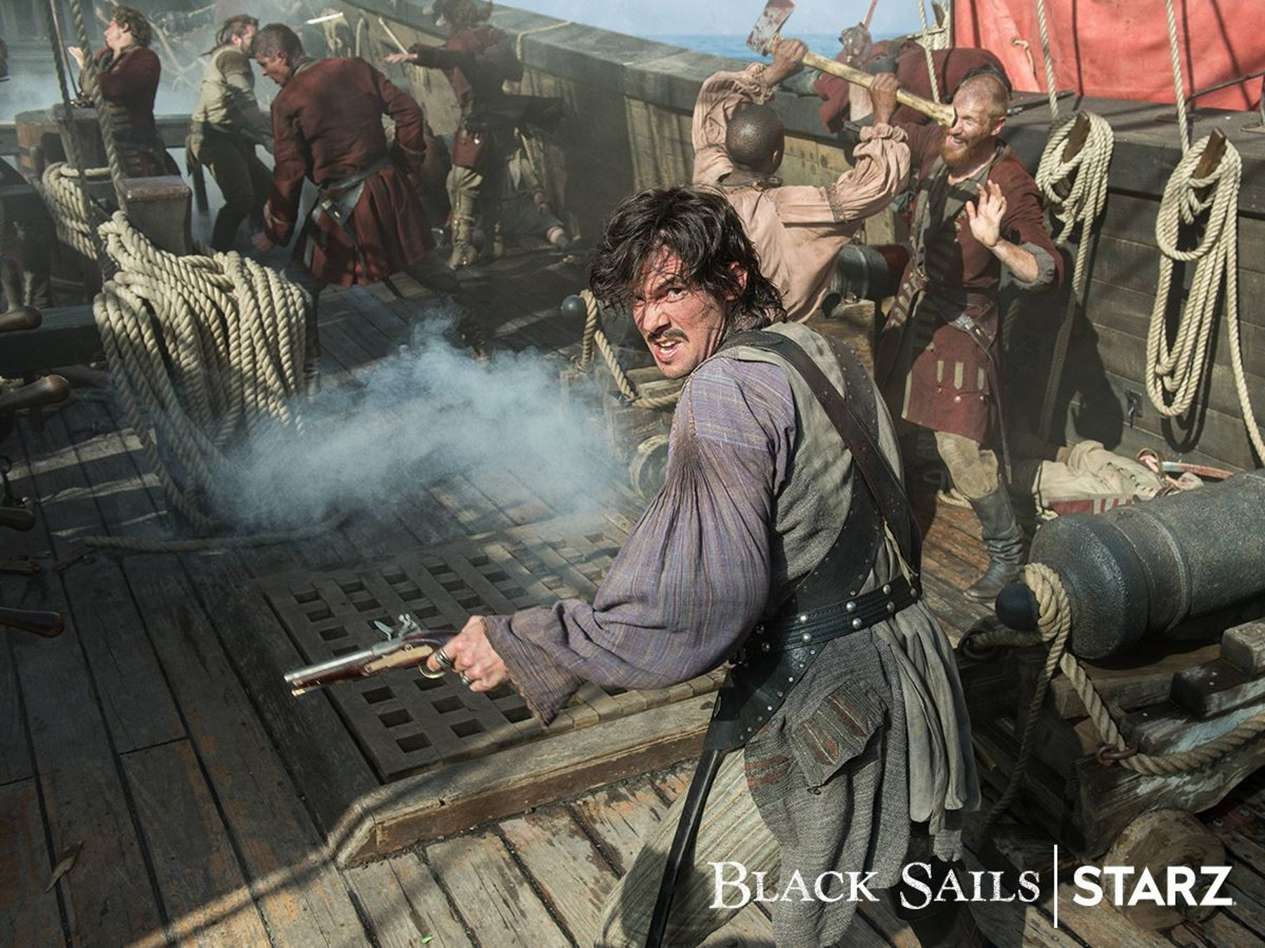 Video Interview: Toby Schmitz Talks 'Black Sails' Season 4