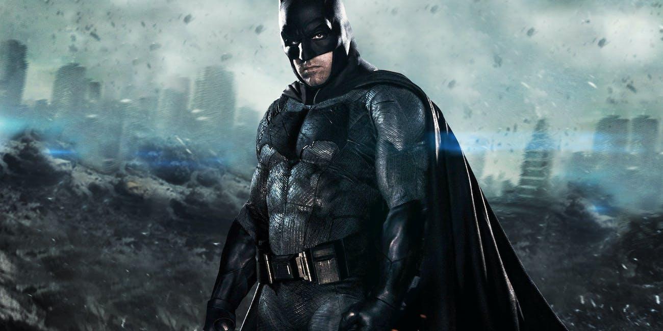 Ben Affleck as Batman in Batman v Superman for DC Entertainment