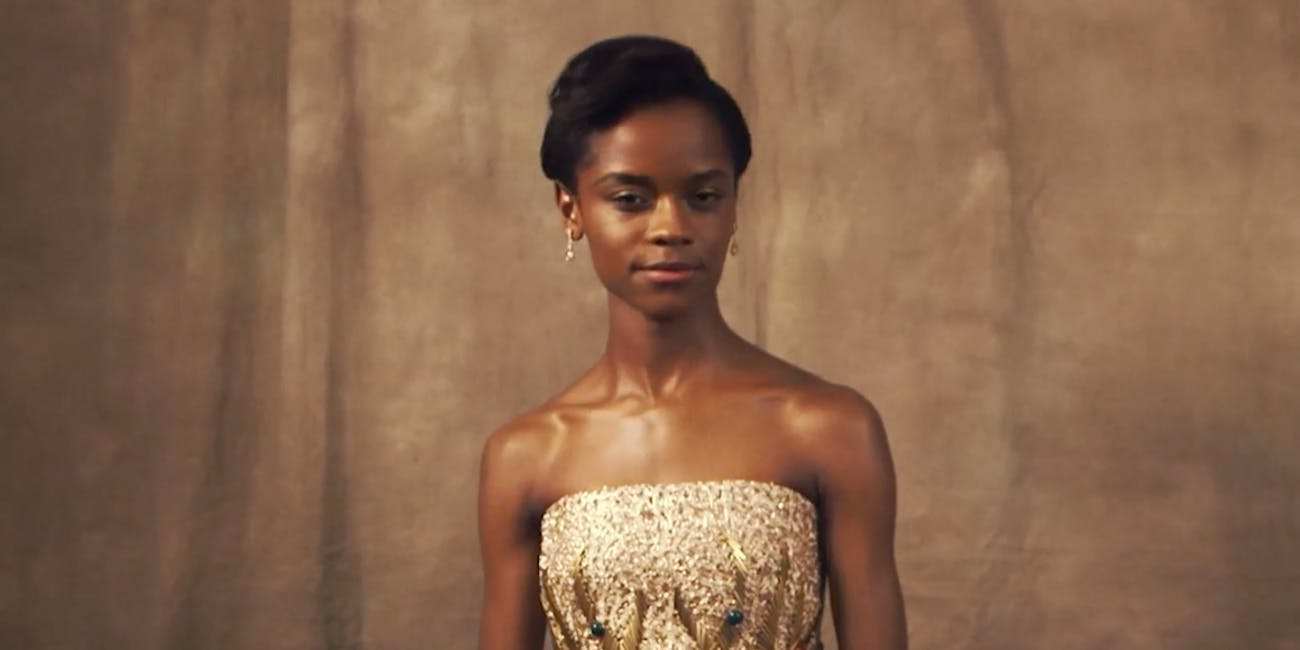 Letitia Wright is Shuri in 'Black Panther'