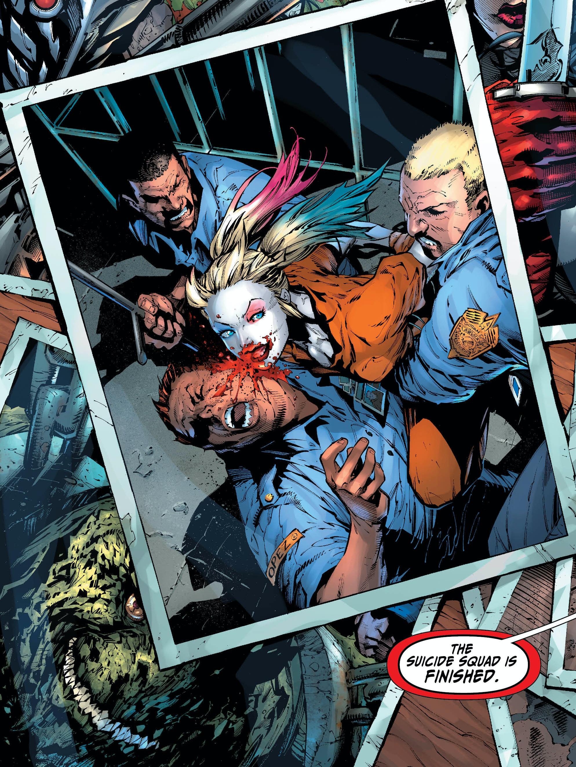'Suicide Squad: Rebirth' #1
