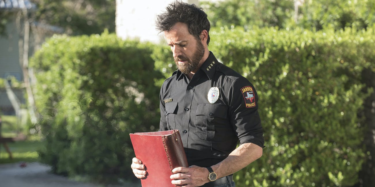 Justin Theroux as Kevin Garvey in 'The Leftovers' Season 3 episode 1, 'The Book of Kevin'
