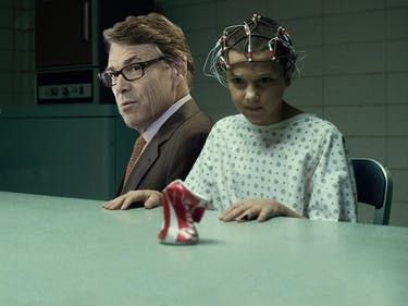 Rick Perry's Basically Going to Be the Bad Guy in 'Stranger Things'
