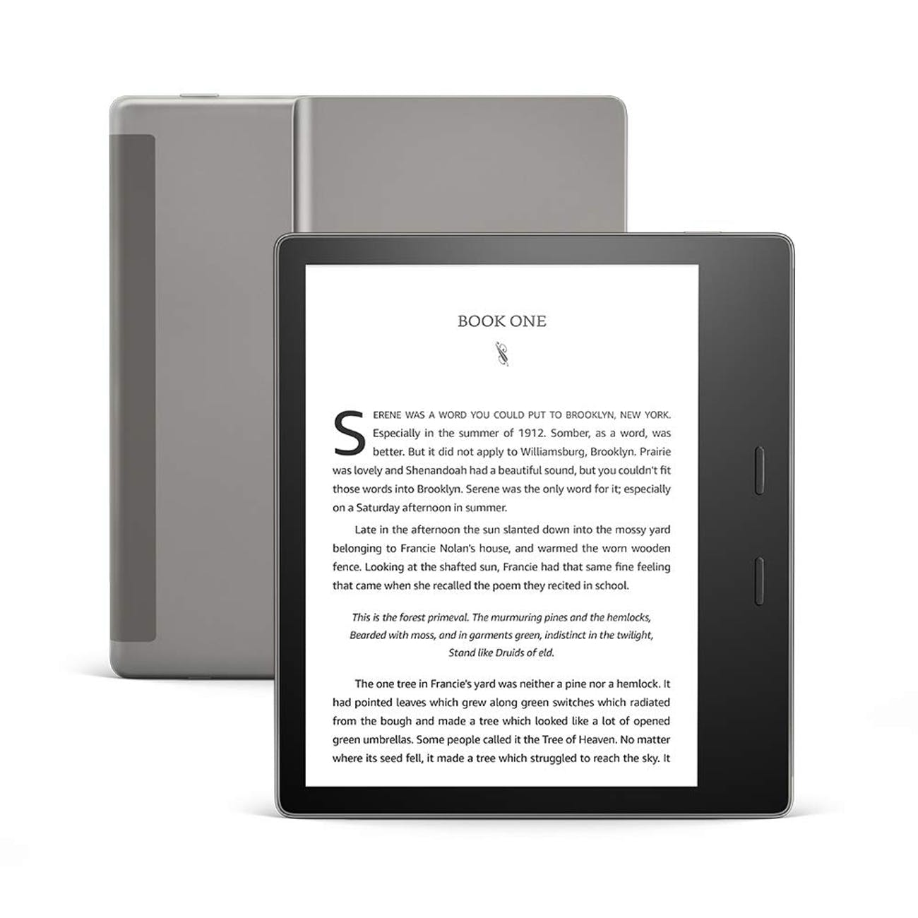 All-new Kindle Oasis - Now with adjustable warm light - Includes special offers, e-reader, e-ink display, books, e-books