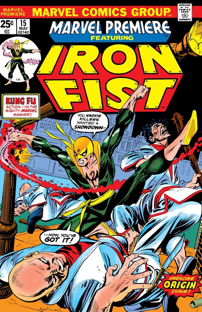 Music Section Morning Tea Society - Page 6 Issue-of-marvel-premiere-15-the-first-appearance-of-iron-fist