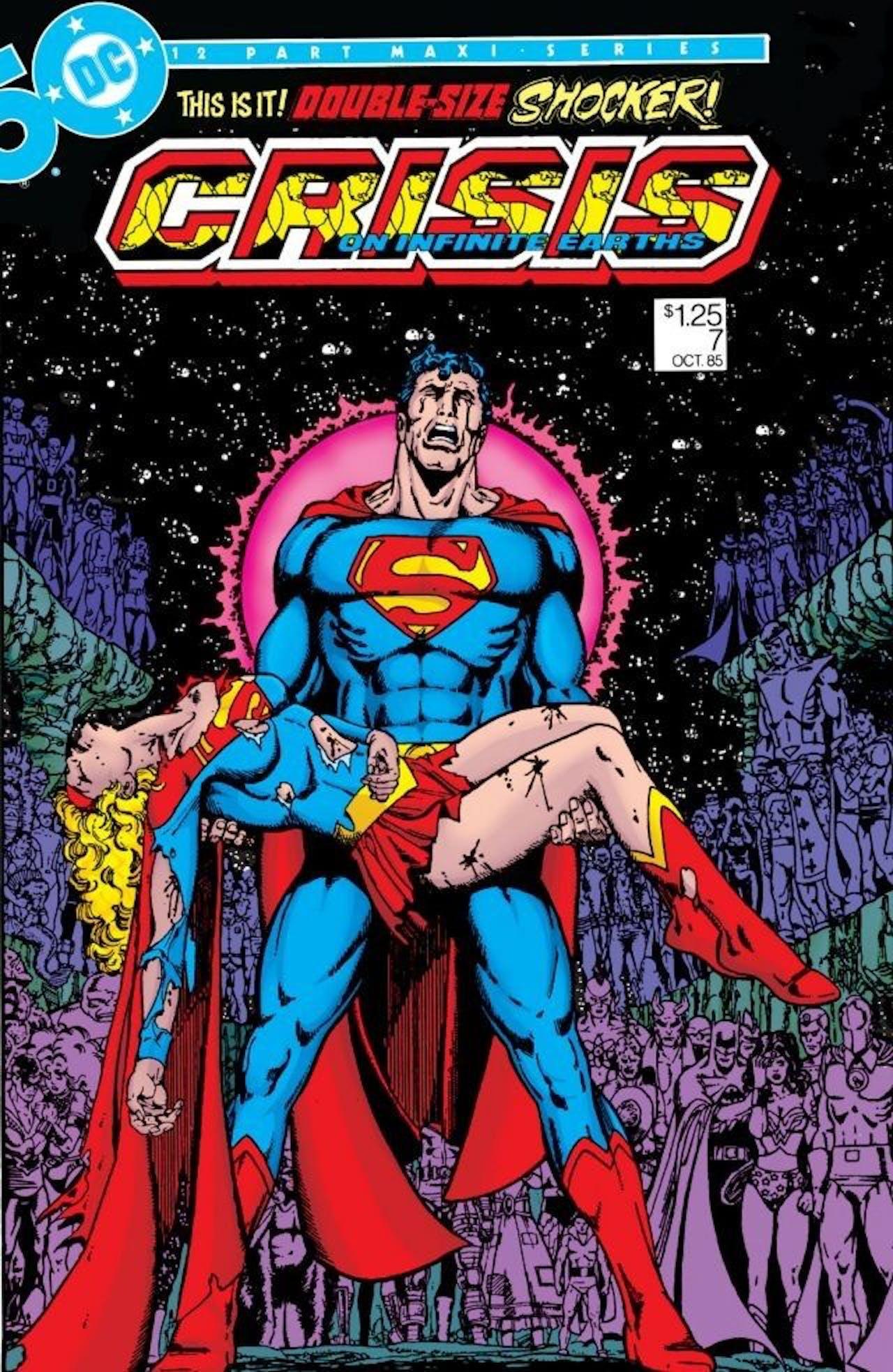 Crisis on Infinite Earths Supergirl Death