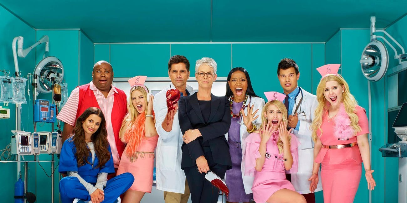 The cast of 'Scream Queens' Season 2