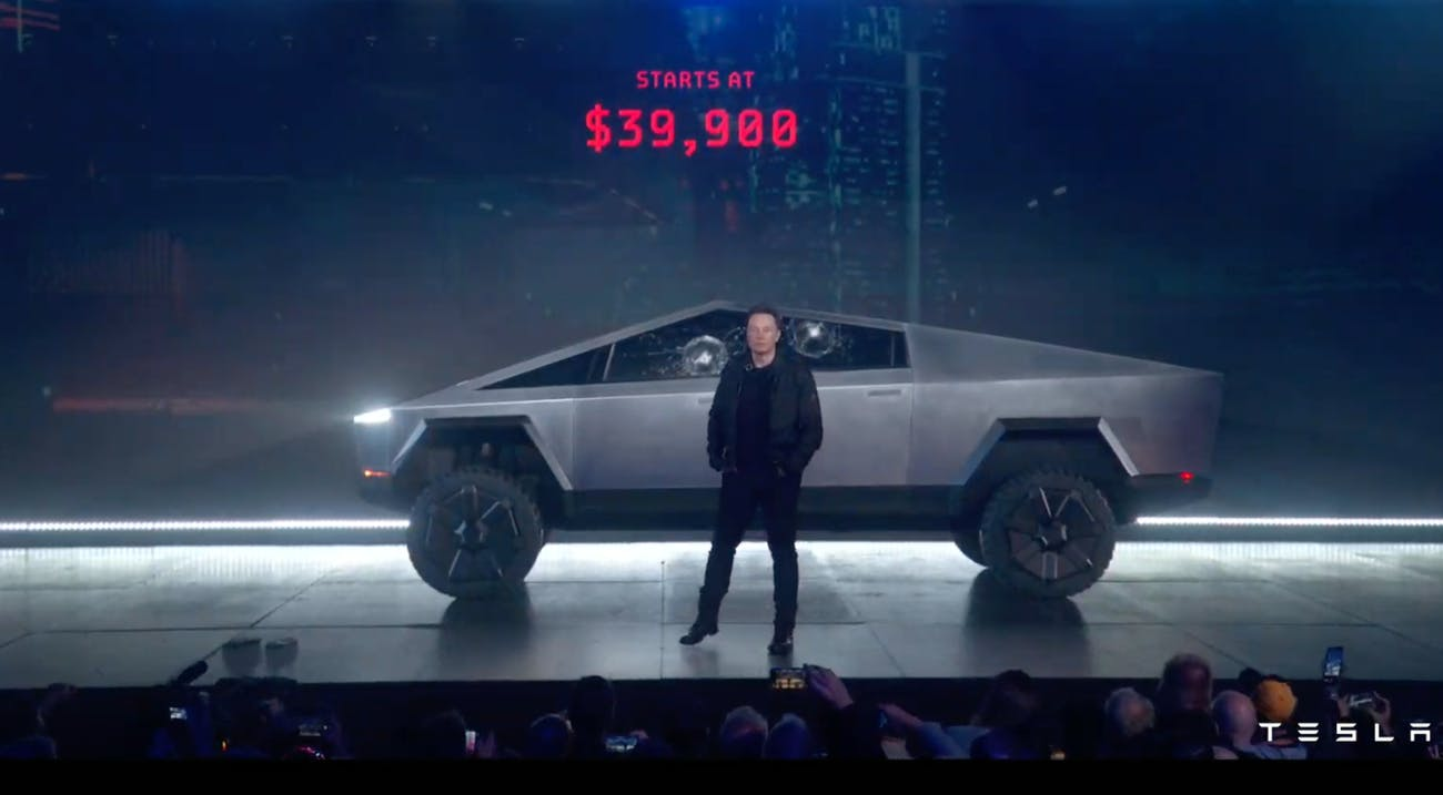 """Tesla Cybertruck pics, price: """"Doesn't look like anything ..."""