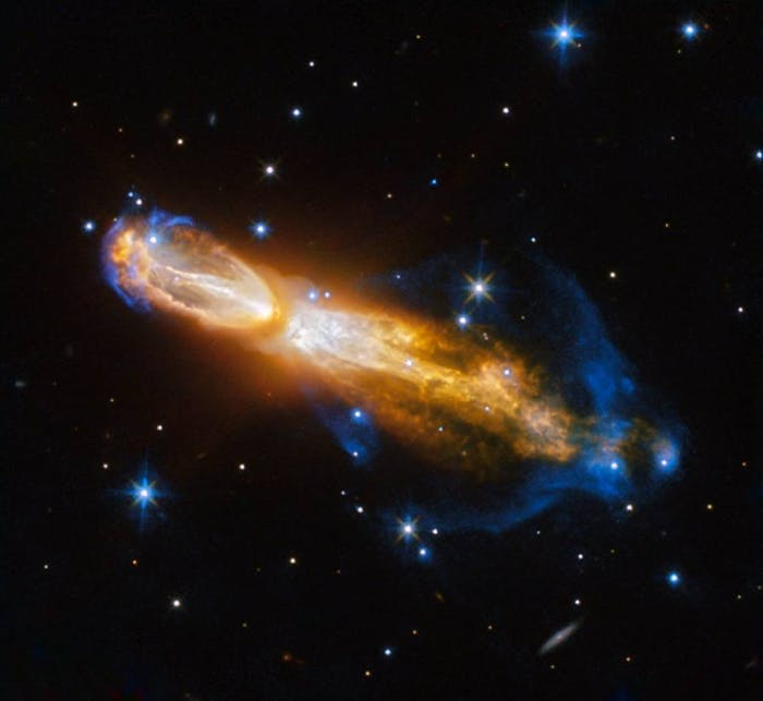 The Rotten Egg Nebula explodes in a never before seen rage.