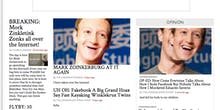 The Harvard Crimson Website is Flooded with Mark Zuckerberg Trolling