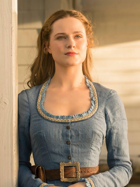 """Evan Rachel Wood as Dolores in HBO's """"Westworld"""""""