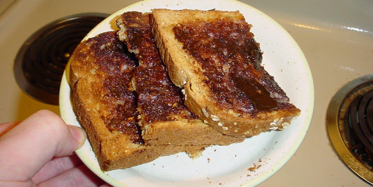 Perfect Vegemite Toast
