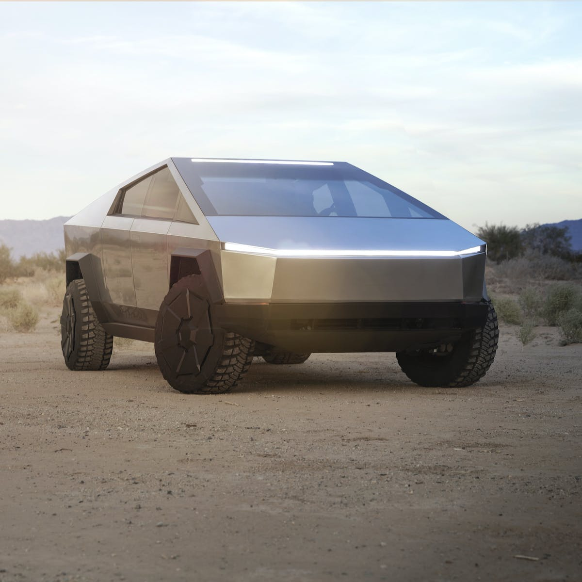 Tesla Cybertruck: 20 coolest photos and videos of the striking pickup truck