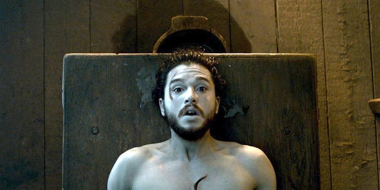 Jon Snow came back to life after months of everybody swearing it wouldn't happen.