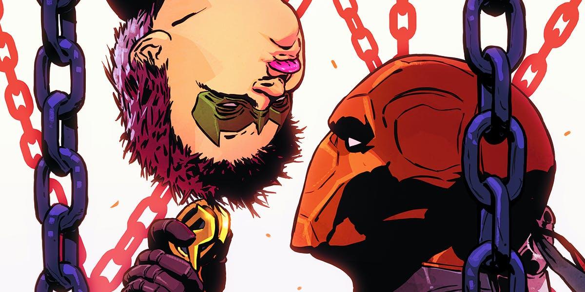 Christopher Priest Deathstroke Robin Damian Wayne