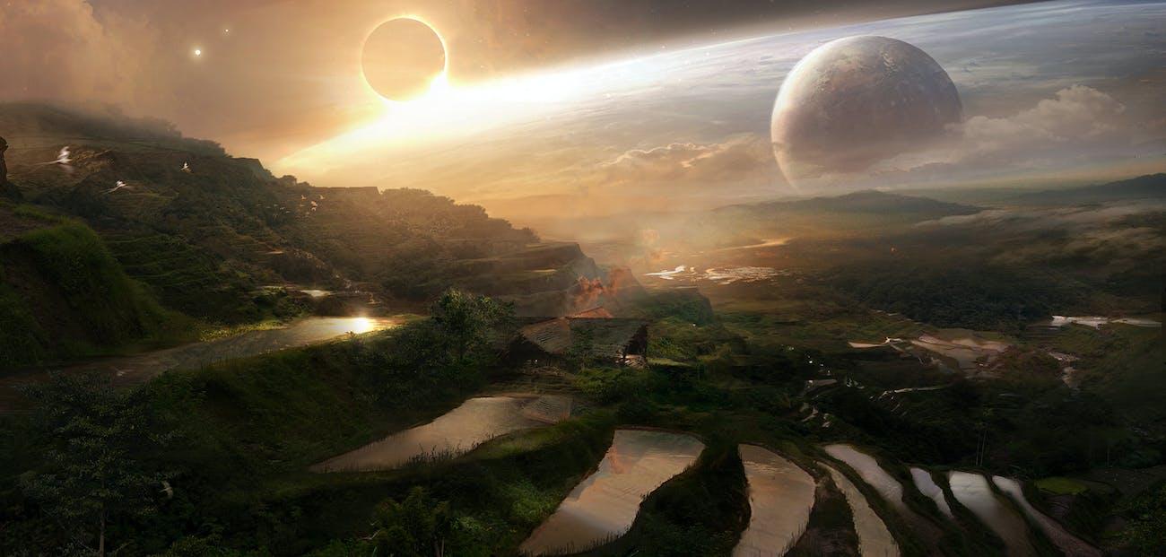 Thanos' Titan farm.