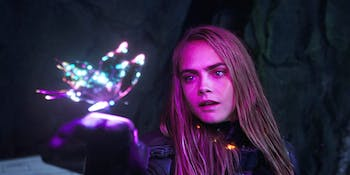 Cara Delevingne in  Luc Besson's 'Valerian and the City of A Thousand Planets'