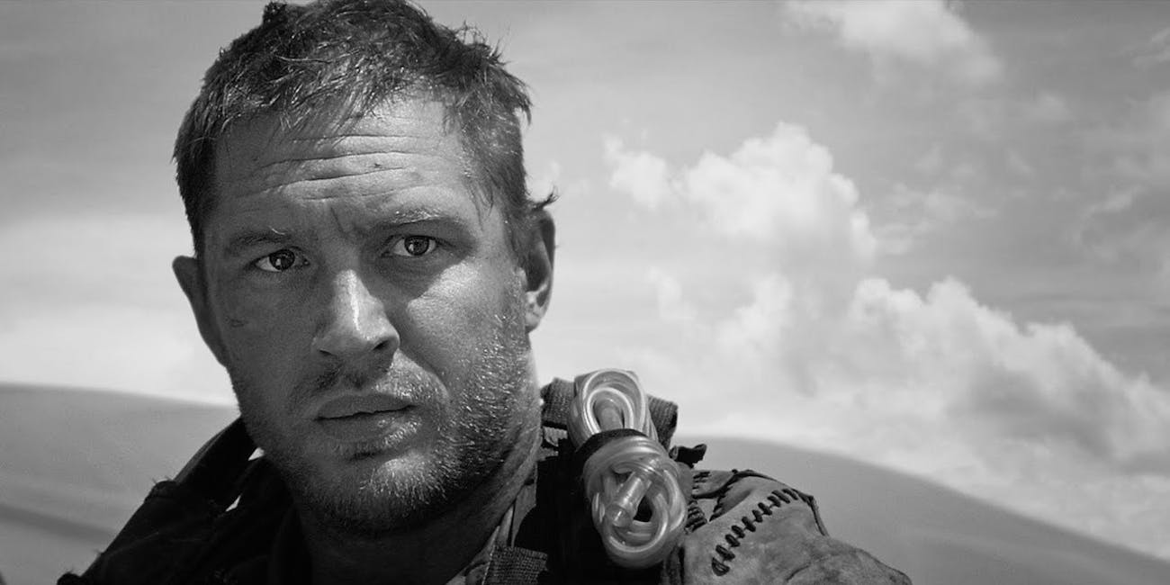 Director george miller is releasing his preferred black and white version of fury road this december and itll be great