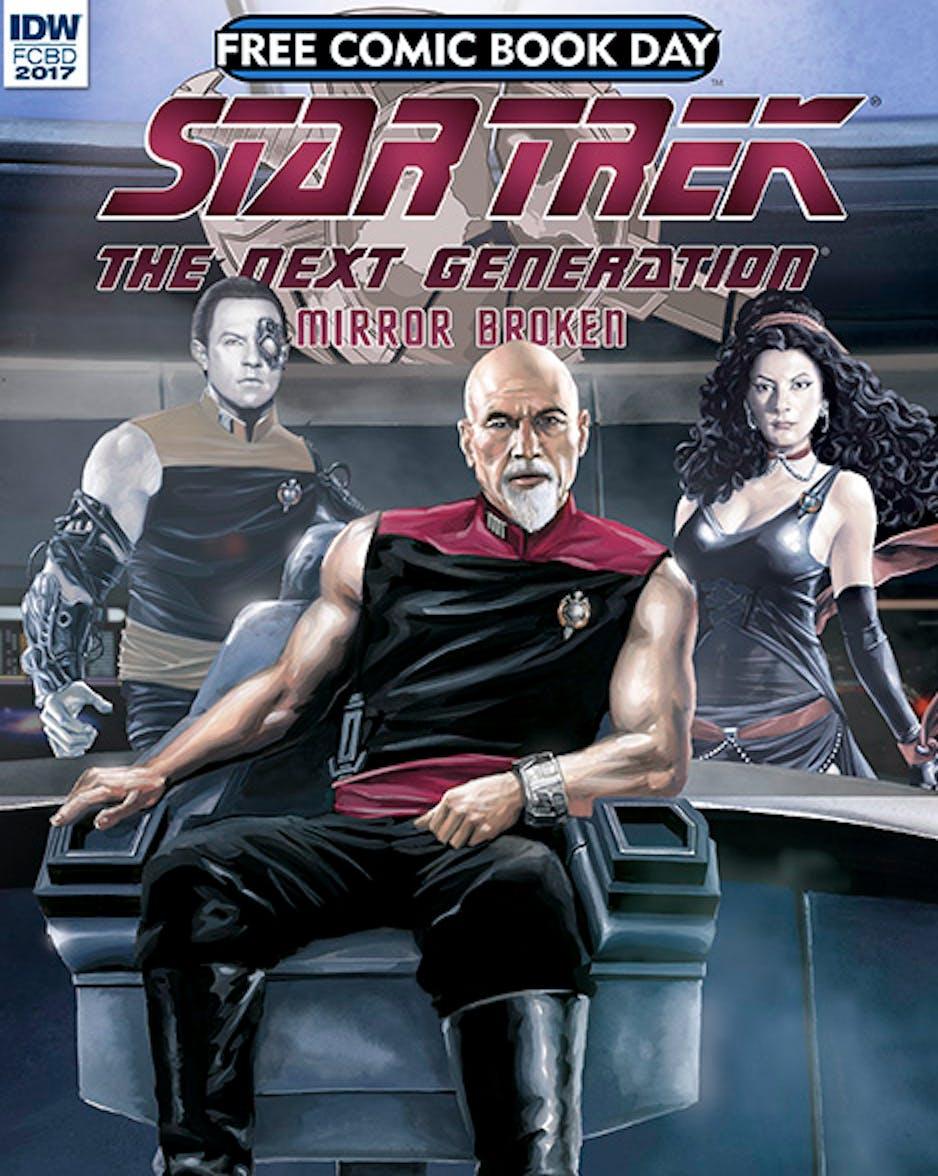 Sleeveless Captain Picard to Rock New 'Star Trek' Mirror