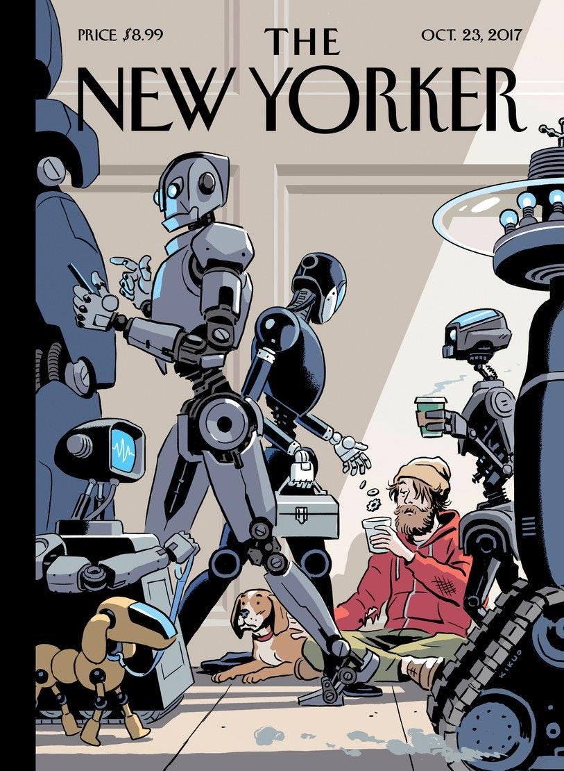u0027New Yorkeru0027 Cover Shows a Grim Robot