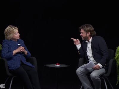 Hillary Clinton Threw Major Shade on 'Between Two Ferns'