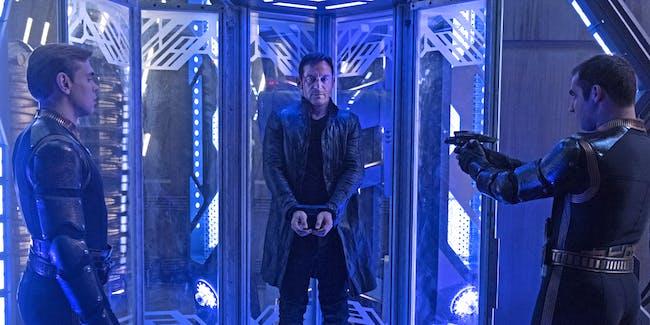 Lorca imprisoned in the Mirror Universe