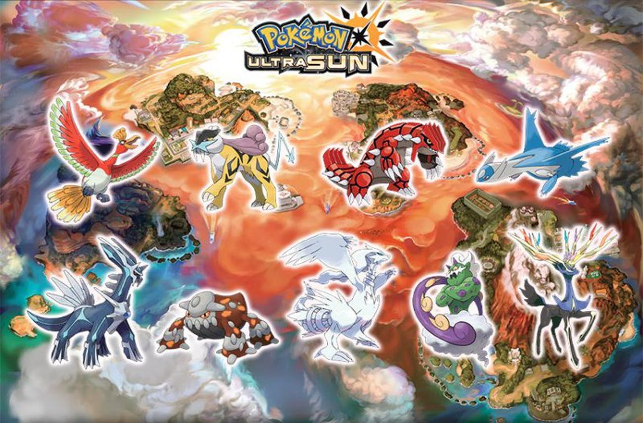 Pokémon Ultra Sun' and 'Moon' Will Let You Catch Every