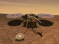 nasa insight lander mars surface