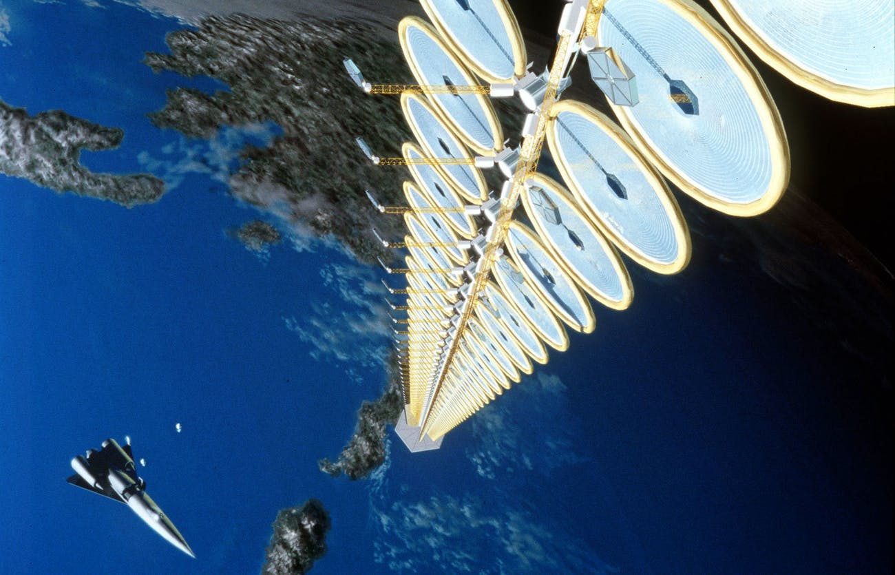 NASA's Suntower concept.
