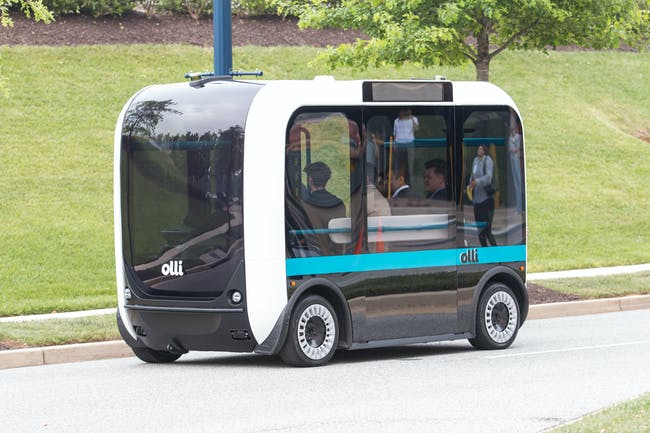 Olli D.C. Jay Rogers Local Motors Self Driving Bus